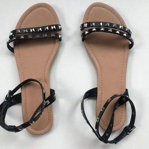 Asos - Black - Studded Sandal